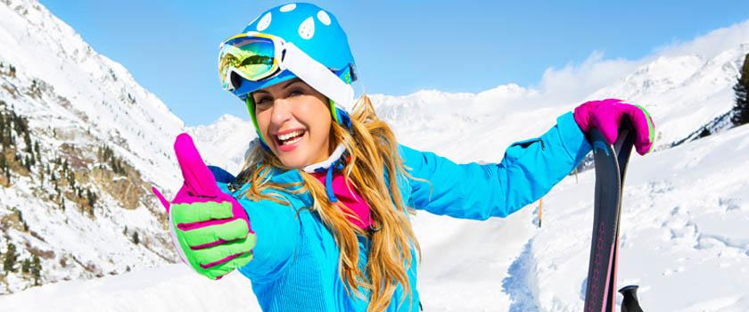 Wie schütze ich meine Augen beim Skifahren?
