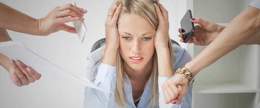 Sehstörungen durch Stress?