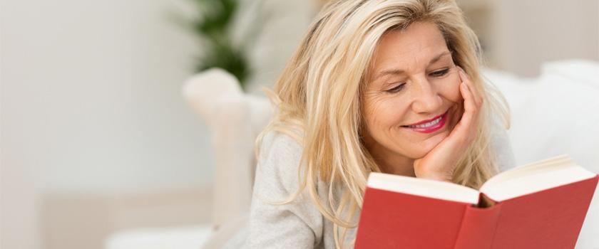 Alterssichtigkeit – Wenn die Buchstaben verschwimmen