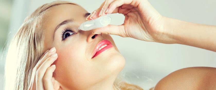 Allergie - Augentropfen gegen rote undjuckende Augen