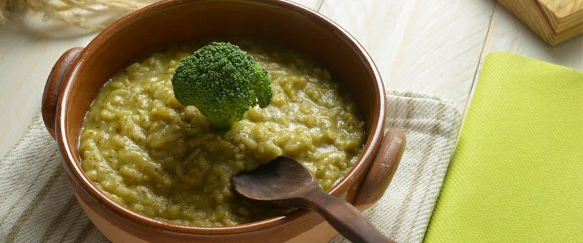 Winter-Rezept Brokkoli-Zitronen-Risotto für gesunde Augen