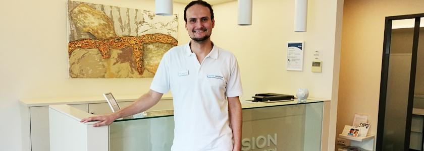 Arbeiten bei CARE Vision – Ein Optometrist berichtet von seiner Erfahrung