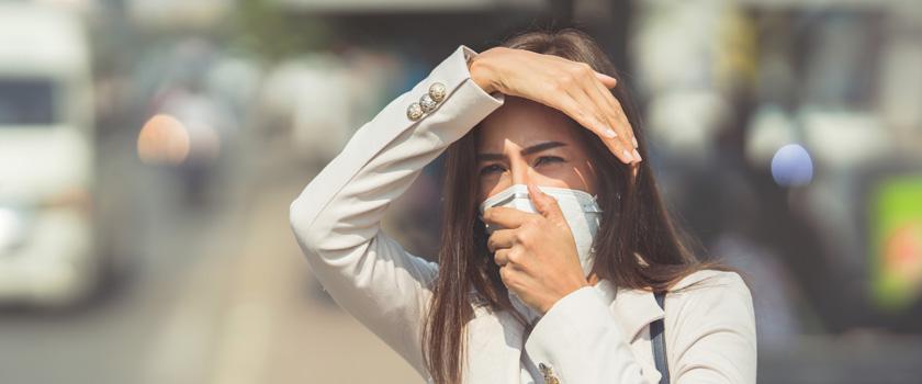 Wie schädlich ist Smog für unsere Augen