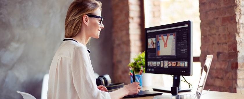 Arbeitsplatzbrillen bei Bildschirmarbeiten