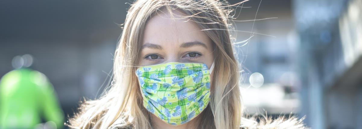 Masken richtig tragen und wieder verwenden – worauf kommt es an?