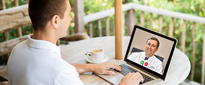 Online-Videoberatung zum Augenlasern